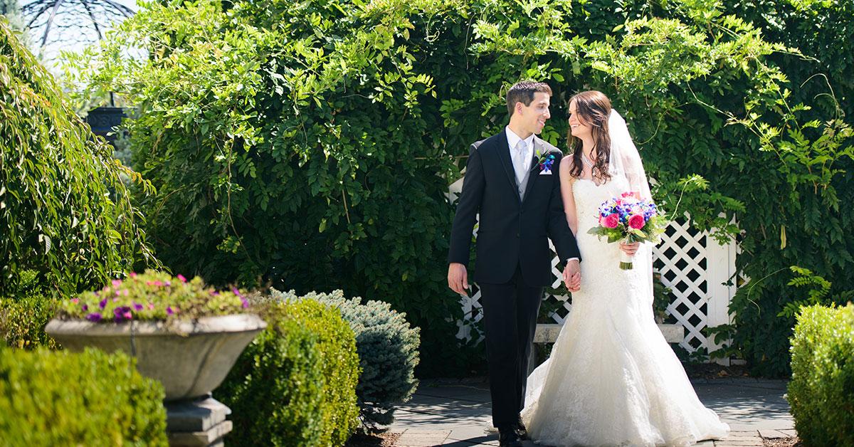 Outdoor Wedding Venues Gardens