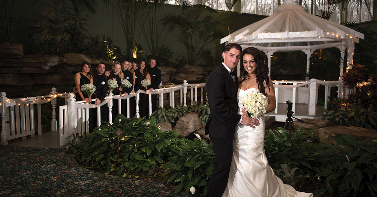 Indoor Wedding Venue Gardens