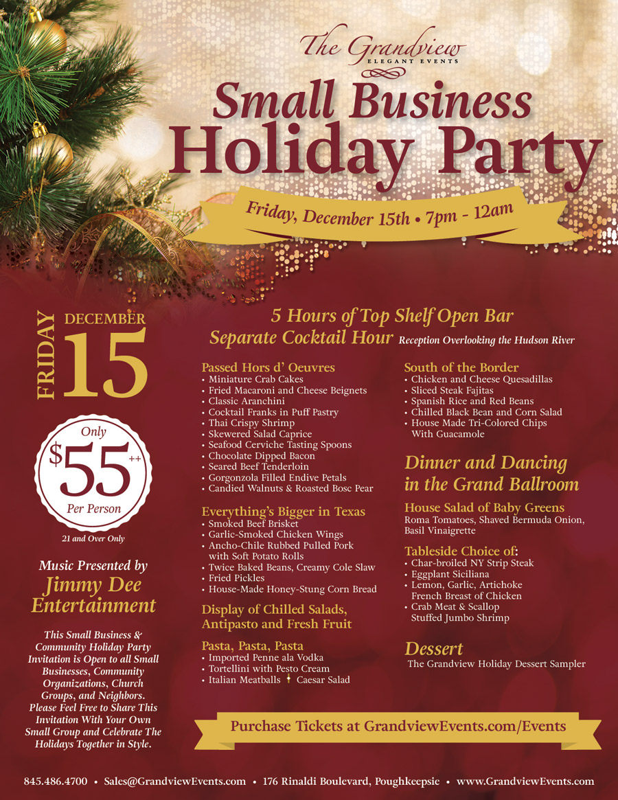 Small Business Community Holiday Party at The Grandview – 2017